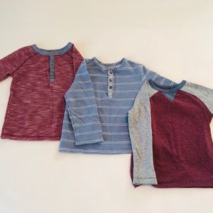 Set of 3 Old Navy Long Sleeve Shirts